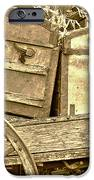 Old Trunks in Genoa Nevada iPhone Case by Artist and Photographer Laura Wrede