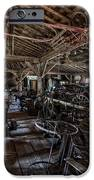 OLD WEST WAGON STORAGE and SHOP iPhone Case by Daniel Hagerman