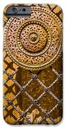 Ornate Door Knob iPhone Case by Carolyn Marshall