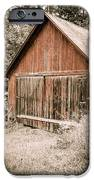 Out by the Woodshed iPhone Case by Edward Fielding