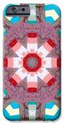 Patchwork Art iPhone Case by Barbara Griffin
