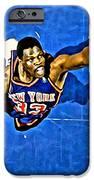 Patrick Ewing iPhone Case by Florian Rodarte