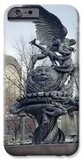 PEACE SCULPTURE in NEW YORK iPhone Case by Daniel Hagerman
