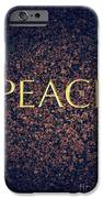 Peace iPhone Case by Tim Gainey