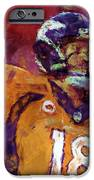 Peyton Manning Abstract 5 iPhone Case by David G Paul