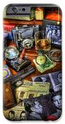Police Officer - Chasing the American Gangster iPhone Case by Lee Dos Santos
