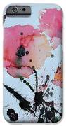 Poppies- painting iPhone Case by Ismeta Gruenwald