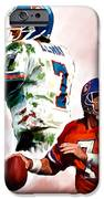Power Force John Elway iPhone Case by Iconic Images Art Gallery David Pucciarelli