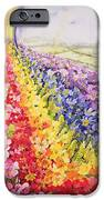 Primrose Rainbow iPhone Case by Joan Thewsey