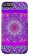 Purple Space Flower iPhone Case by Hanza Turgul