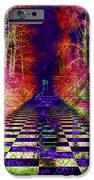 Rawa River Abstract Art iPhone Case by Mary Clanahan