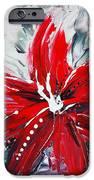 RED BEAUTY iPhone Case by TERESA WEGRZYN