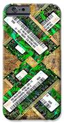Refresh My Memory - Computer Memory Cards - Electronics - Abstract iPhone Case by Andee Design
