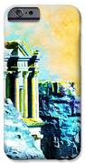 Rock Hewn Monastery Ad-Deir iPhone Case by Catf