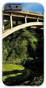Rocky Creek Bridge iPhone Case by Benjamin Yeager