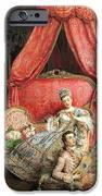 Romantic scene iPhone Case by Ignacio De Leon y Escosura