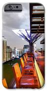 Rooftop bar Above Eleven in Bangkok iPhone Case by Fototrav Print