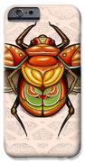 Sacred Scarab iPhone Case by Matt Truiano