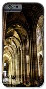 Saint Denis Cathedral iPhone Case by Olivier Le Queinec