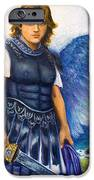 Saint Michael the Archangel iPhone Case by Patty Kay Hall