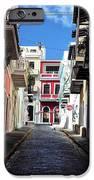 San Juan Alley iPhone Case by John Rizzuto
