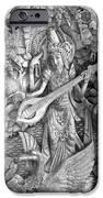 Saraswati - Supreme Goddess iPhone Case by Karon Melillo DeVega