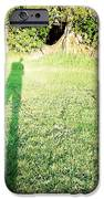 Selfie shadow iPhone Case by Les Cunliffe