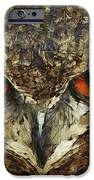 Sharpie Owl iPhone Case by Ayse Deniz