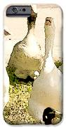 Six Geese and a Duck iPhone Case by Artist and Photographer Laura Wrede