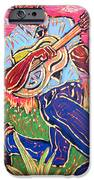 Skippin' Blues iPhone Case by Robert Ponzio