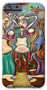 Smoking Belly Dancers iPhone Case by Anthony Falbo