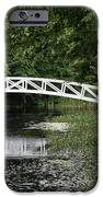 Somesvilles White Bridge iPhone Case by Christiane Schulze Art And Photography