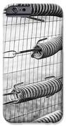Springs on the Fence iPhone Case by Christi Kraft