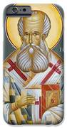 St Gregory the Theologian iPhone Case by Julia Bridget Hayes