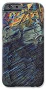 States of Mind    Those Who Go iPhone Case by Umberto Boccioni