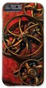 Steampunk - Clockwork iPhone Case by Mike Savad