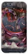 Steampunk - Enteroctopus magnificus roboticus iPhone Case by Mike Savad
