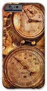 SteamPunk - Gauges iPhone Case by Mike Savad