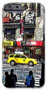Streets of Manhattan 20 iPhone Case by Mario  Perez
