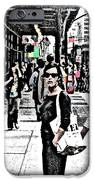 Streets of NYC 19 iPhone Case by Mario  Perez