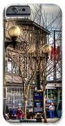 Strolling Towards the Market - Seattle Washington iPhone Case by David Patterson