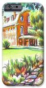 Summertime at Ursuline No C101 iPhone Case by Kip DeVore