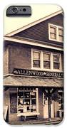 The Allenwood General Store iPhone Case by Olivier Le Queinec
