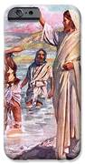 The call of Andrew and Peter iPhone Case by Harold Copping