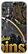 The Fabulous Kingpins Drums iPhone Case by David Patterson