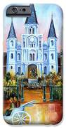 The Hours on Jackson Square iPhone Case by Diane Millsap