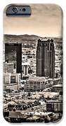 The Magic City Sepia iPhone Case by Ken Johnson