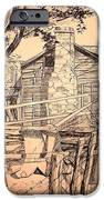 The Pig Sty iPhone Case by Kip DeVore