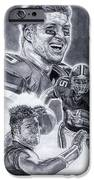 Tim Tebow iPhone Case by Jonathan Tooley