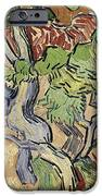 Tree Roots iPhone Case by Vincent Van Gogh